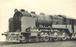 Thème Train Locomotives De L' Inde (Bengal Nagpur Railway) 2 Cylindres CP Ed. H.M.P. N°883 Locomotive Vapeur - Trains
