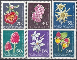 Romania  Michel # 3023 - 28  ** - Unused Stamps