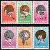 Romania  Michel # 3060 - 65  ** - Unused Stamps