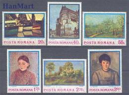 Romania  Michel # 3175 - 80  ** - Unused Stamps