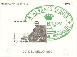 España Prueba Oficial  Edifil 20  Día Del Sello 1990  NL187 - 1931-Aujourd'hui: II. République - ....Juan Carlos I