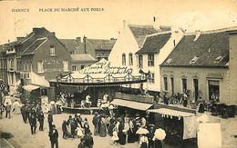 031 466 - CPA - Belgique - Hannut - Place Du Marché Aux Porcs - Hannuit