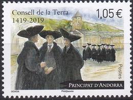 Andorre Français T U C 2019-1neuf - French Andorra