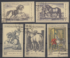 TSJECHOSLOWAKIJE - Michel - 1969 - Nr 1870/74 - Gest/Obl/Us - Used Stamps
