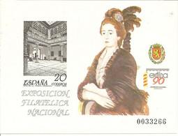 España Prueba Oficial  Edifil 21  Exfilna'90  1990 NL194 - 1931-Aujourd'hui: II. République - ....Juan Carlos I