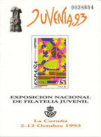 España Prueba Oficial  Edifil 30 Exposición Filatelia Juvenil  1993   NL200 - 1931-Aujourd'hui: II. République - ....Juan Carlos I