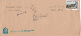 MALAISIE LETTRE POUR LA FRANCE 1972 - Malaysia (1964-...)