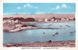 29 -  Finistere -  ARGENTON - LANDUNVEZ -  Vue Generale Du Port - Otros Municipios