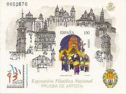 España Prueba Oficial  Edifil 29  Exfilna'93  Alcañiz  1993  NL236 - 1931-Aujourd'hui: II. République - ....Juan Carlos I