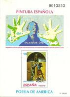 España Prueba Oficial  Edifil 32 Salvador Dalí  1994  Pintura Española  NL270 - 1931-Aujourd'hui: II. République - ....Juan Carlos I