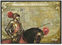 2000-ED. 3699 H.B.- REY CARLOS V Por TIZIANO -USADO - 1931-Aujourd'hui: II. République - ....Juan Carlos I