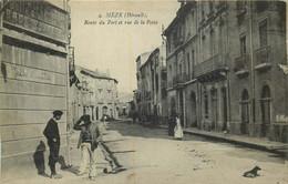 HERAULT  MEZE Route Du Port - Mèze