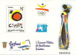 España Prueba Oficial  Edifil 22  Exposición Exfime'90  Barcelona  1990  NL276 - 1931-Aujourd'hui: II. République - ....Juan Carlos I