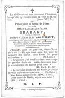Brabant M.m.m.( Brussel 1798 -geel 1879) - Religión & Esoterismo