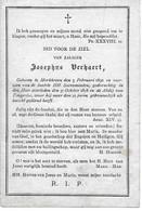 Verhaert Josephus( Morkhoven 1830 -tongerloo 1878) - Religion &  Esoterik