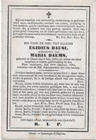 Dausi Egidius ( Geel 1825 -  1884) - Religión & Esoterismo