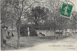 12  La Fouillade Place De L'eglise - Otros Municipios