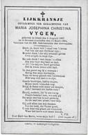 Vygen M.j.c. ( Geel 1867 - 1884) - Religión & Esoterismo