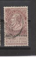COB 61 Oblitération Centrale BARVAUX - 1893-1900 Thin Beard