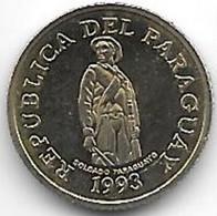 PARAGUAY 1 Guarani 1993 - Paraguay