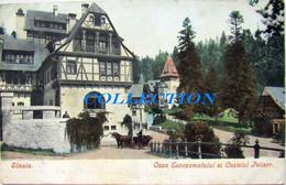 SINAIA 1906, Castelul PELISOR SI CASA Economatului, Timbru - Roumanie