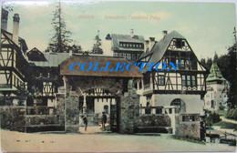 SINAIA 1910, Castel PELES, INTENDENTA Regala, Raritate Necirculata - Roumanie