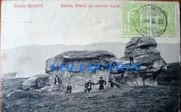 SINAIA BUSTENI 1910, Babele, Stanci Pe Muntele CARAIMAN, TCV Excellent - Roumanie