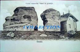BUSTENI SINAIA 1920, CABANA Casa OMUL La GRANITA, Muntii BUCEGI, Necirculata - Roumanie