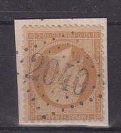 "FRANCE :  GC 2040 . "" LIGARDES "" . (31) . N° 21 . TB . ( CATALOGUE MATHIEU ) . SUR FGT . - 1849-1876: Classic Period"