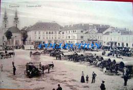 TRANSILVANIA, TIMISOARA, Temesvar 1900, PIATA Mare, Animata, Rara, Necirculata - Roumanie