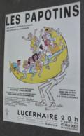 Programme (14 X 21) Les Papotins - Lucernaire - Illustration : Cabu (2001) - Advertising