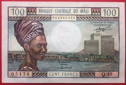 N°191 BILLET DE BANQUE DE 100 FRANCS DU MALI 1972/73 NEUF - Mali