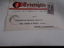 B776  Intero Postale Cristiglio Bologna - 6. 1946-.. Repubblica