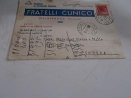 B776  Intero Postale Fratelli Cunico Villafranca Verona - 6. 1946-.. Repubblica