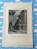 Les Fables De La Fontaine Par Oudry Les Nouvelles Galeries L'homme Et L'idole De Bois - Other
