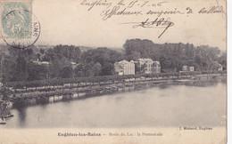 Enghien Les Bains (95) - Bords Du Lac - La Promenade - Enghien Les Bains