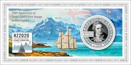 SIERRA LEONE 2020 - James Cook, S/S. Official Issue [SRL200219b] - Explorers
