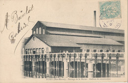 52) BUSSY : Barrage De La Marne - Ateliers De Construction - Frankrijk