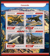 Djibouti 2017 DJ200 Transport - Concord. Aviation. Aircraft - Djibouti (1977-...)
