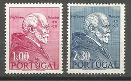 Portugal Afinsa 753/54 Complete Set MNH / ** 1952 - 1910-... République