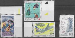 FRANCE N°2777,2778,2783 Et 2784 Neufs Sans Charnière Luxe MNH - France