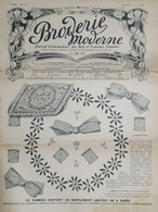 Rivista Moda Ricamo - Broderie Moderne - Arts Et Travaux Feminis N. 14 - 1908 - Boeken, Tijdschriften, Stripverhalen