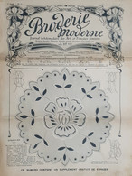 Rivista Moda Ricamo - Broderie Moderne - Arts Et Travaux Feminis N. 16 - 1908 - Boeken, Tijdschriften, Stripverhalen