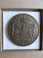 Belgique   Médaille 1836-1936 Centenaire Des 9 Provinces - Altri