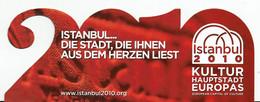 """MP Découpé """" Année 2010 """" Istanbul Capital De La Culture - Lesezeichen"""