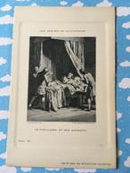 Les Fables De La Fontaine Par Oudry Les Nouvelles Galeries Le Vieillard Et Ses Enfants - Other