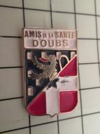 451c Pins Pin's / Rare & Belle Qualité THEME MEDICAL / AMIS DE LA SANTE DOUBS BLASON ECUSSON ARMOIRIES - Medici