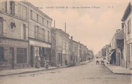 52 - SAINT DIZIER / LA RUE GAMBETTA à GIGNY - Saint Dizier