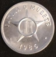 CUBA - 2 CENTAVOS 1985 - KM 104 - Cuba