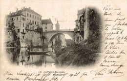 Lot De 2 CPA Le Pont De Beauvoisin - Puentes